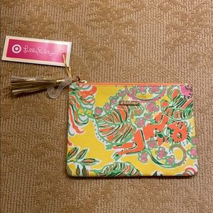 New with Tag Lily Pulitzer x Target Clutch